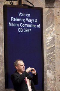 Senate budget debate, March 2012.
