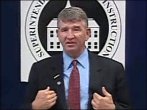 State schools superintendent Randy Dorn.
