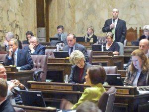 House Appropriations Chair Ross Hunter, D-Medina.