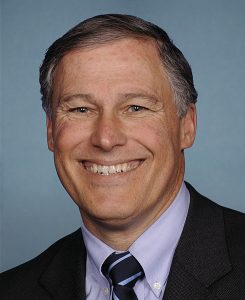 Former Congressman Jay Inslee, Democratic candidate for governor.