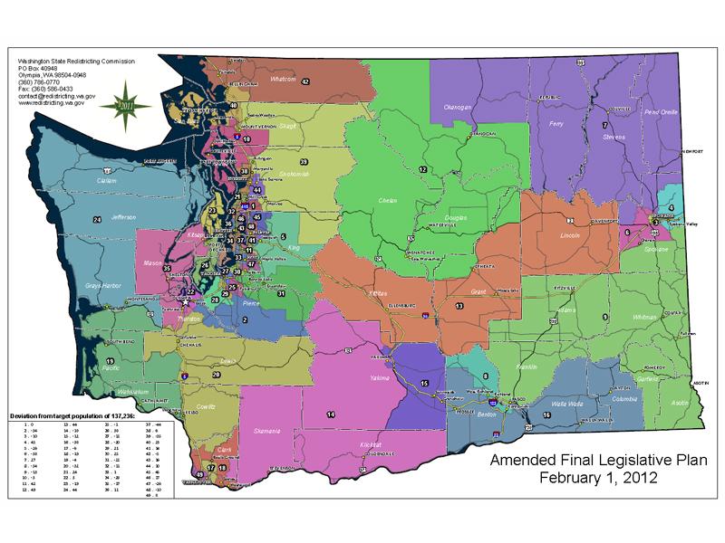 2012 Redistricting Maps
