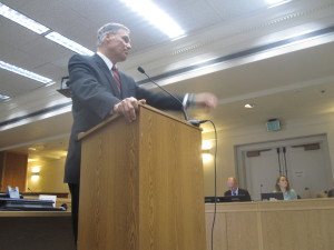 Gov.-elect Jay Inslee answers questions at an Associated Press forum last week.