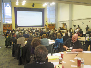 Charter school operators from other states address a crowd of 150 at a Tacoma conference Dec. 15.