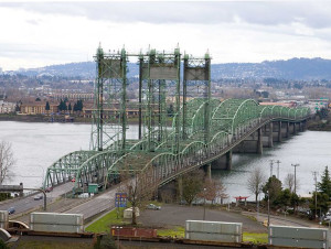 At 176 feet, the Interstate Bridge at Vancouver currently offers plenty of clearance for river users.