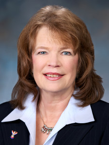 State Rep. Judy Warnick, R-Moses Lake, takes Kristiansen's position as caucus chair.