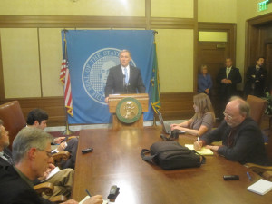 Two-week layoff ahead: Gov. Jay Inslee announces his special-session plans Sunday night.