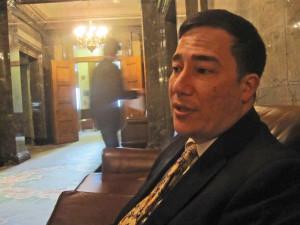 State Sen. Steve Hobbs, D-Lake Stevens.