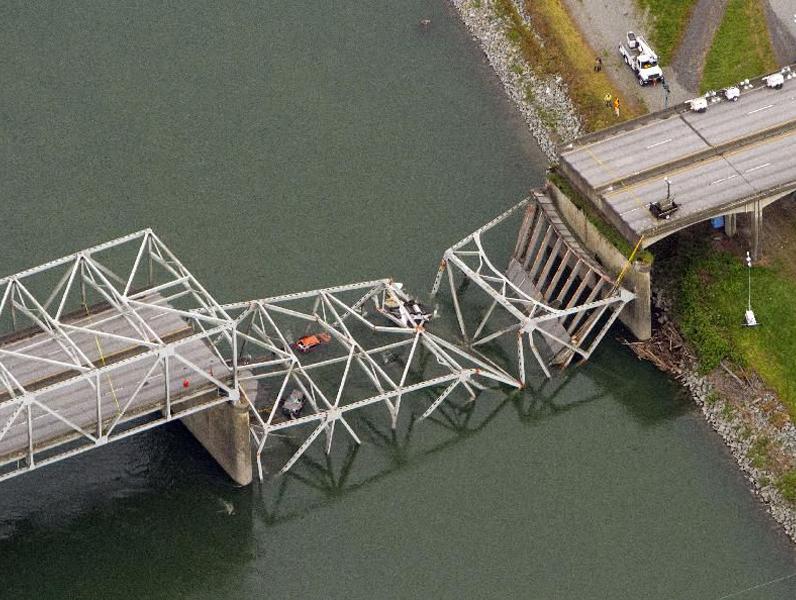 Everything changed when the Skagit River bridge fell last week.