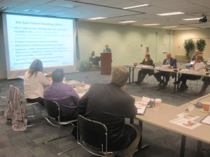 L&I's Workers' Comp Advisory Committee, the battleground for business and labor interests, hears the disappointing news about the settlement program at its meeting Wednesday.