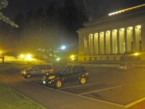There were a dozen cars in the legislative parking lot Thursday at 10:30 p.m. -- read into that what you will.