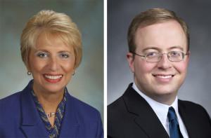 State Rep. Jan Angel, R-Port Orchard, is challenging Sen. Nathan Schlicher, D-Gig Harbor, in the season's hottest legislative race.