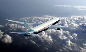 Boeing's new 777X.