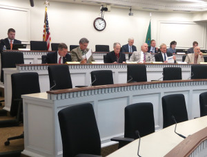 Tax talk is beginning: House Finance Committee meets in Olympia.