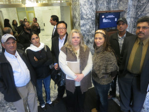 Liquor store owners gather for Nov. 22 House hearing.
