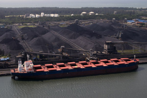 Richards Bay Coal Terminal in South Africa.