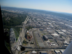 South Seattle, one of the state's biggest manufacturing districts.