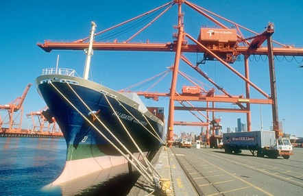 The Port of Seattle -- focal point for the South Seattle manufacturing district.