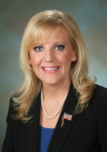 Senate Commerce and Labor Chairwoman Janea Holmquist Newbry, R-Moses Lake.