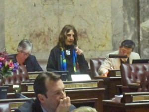 State Sen. Rosemary McAuliffe, D-Bothell, Senate Democratic lead on K-12 education.