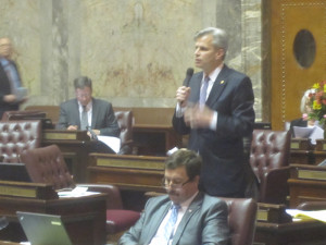 State Sen. Steve Litzow, chairman of the Senate Early Learning and K-12 Education Committee.