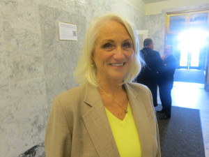 SAenate Health Care Chair Randi Becker, R-Eatonville.