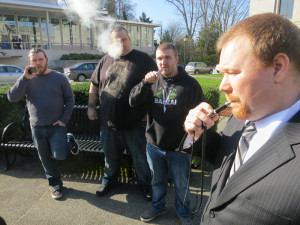 """They're not smoking, they're """"vaping."""""""