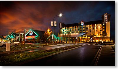 The Swinomish Indian Tribal Community's casino in La Connor