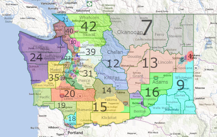 Legislative Race Primary Results Washington State Wire