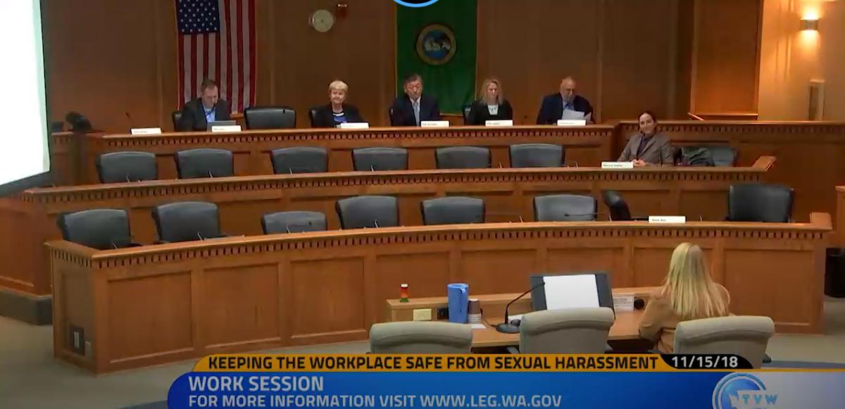 Washington state sexual harrassment